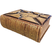 Antique Gilt HOLY BIBLE Dated 1873