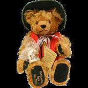 Vintage HERMANN Original Limited Edition Oktoberfest Teddy Bear No. 2190