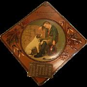 Vintage 1911 Advertising Calendar - S.W. Pickering & Sons Merchandise