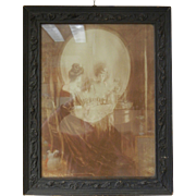 Framed Vintage Picture 'Vanity' by Charles Allan Gilbert