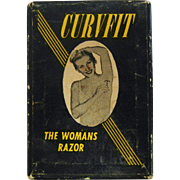 Vintage Curvfit Women's Razor In Original Box