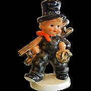 Vintage Goebel Porcelain Figurine - Chimney Sweeper