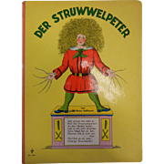 "Vintage German Children's Book ""Der Struwwelpeter"" By Hoffmann"