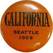 Vintage WH. Hoegee Co. Pin - California Seattle 1909