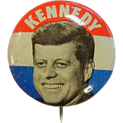 Vintage Political  Campaign Pin - John F Kennedy