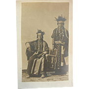 Vintage Original B&W Photo Postcard - Yakima Klootchman by Moorhouse