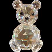 "Swarovski Crystal Bear - 2-3/4"""