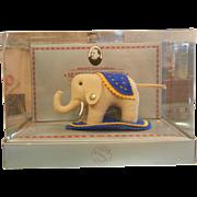 Vintage 1984 Steiff Museum Teddy Bear Replica 0080/08 Felt Elephant