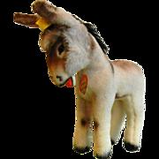 Vintage Steiff Original Grissy The Donkey