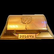Vintage Plastic Deco  Style Bulova Box Patent #167918  for Watch