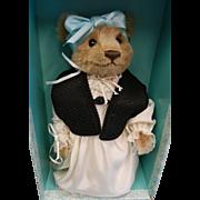 Vintage 1986 Steiff SCHNUFFY Michele Durkson Clise Bear with Original Box