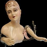 Art Deco Doll Torso in the Style of Lilli Baitz