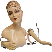 Art Deco Doll Torso in the Style of Lilli Baitz