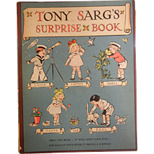 """Vintage 1941 """"Tony Sarge's Surprise Book"""" - B.F. Jay - Red Tag Sale Item"""