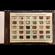 """Vintage Booklet """"30 Gemstones in the Rough"""""""