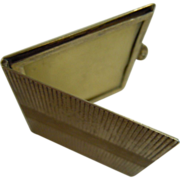 Antique Hallmarked 900 Silver Miniature Photo Frame Pocket Booklet
