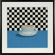 "Modern American Painting ""Cup of Coffee"" by Suzy Smith"