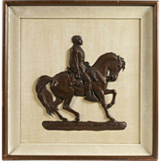 Civil War Bronze Relief by Felix Octavius Carr Darley - 1864