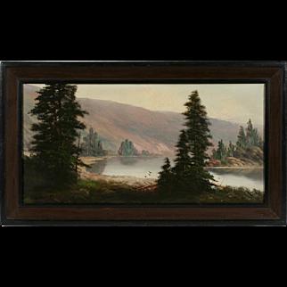 Early California - Northwest Painting by Joseph John Englehart