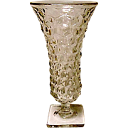 SALE SAVE 25% - Fostoria American Square Footed Flared Vase
