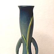 """Lovely Roseville Zephyr Lily In Blue ~ #201-7"""" Bud Vase"""