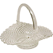 Westmoreland English Hobnail Crystal Basket