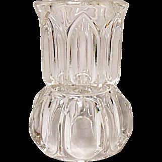 EAPG - Match Safe - 1903 U. S. Glass Church Windows - Match Holder