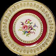 Vintage Thomas China - Germany - Plate - Pattern 3842