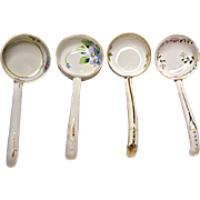 SAVE 20% - Vintage Lot of Four Hand Painted Nippon Whipped Cream Ladles