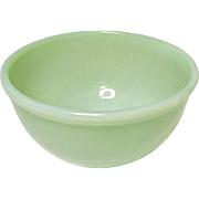 """Vintage Hocking Fire King Jade-ite Beaded Edge Small Mixing Bowl, 4-7/8"""""""