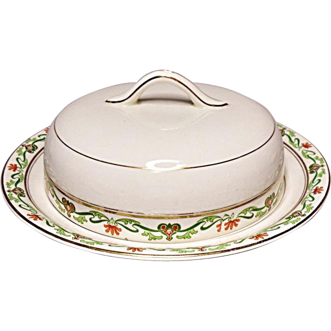 SALE SAVE 20% - John Maddock and Sons, Ltd. MAD128 - Lucerne - Covered Butter - Cheese Keeper