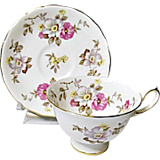 Vintage Royal Chelsea Bone China English Tea Set Pattern #3881A