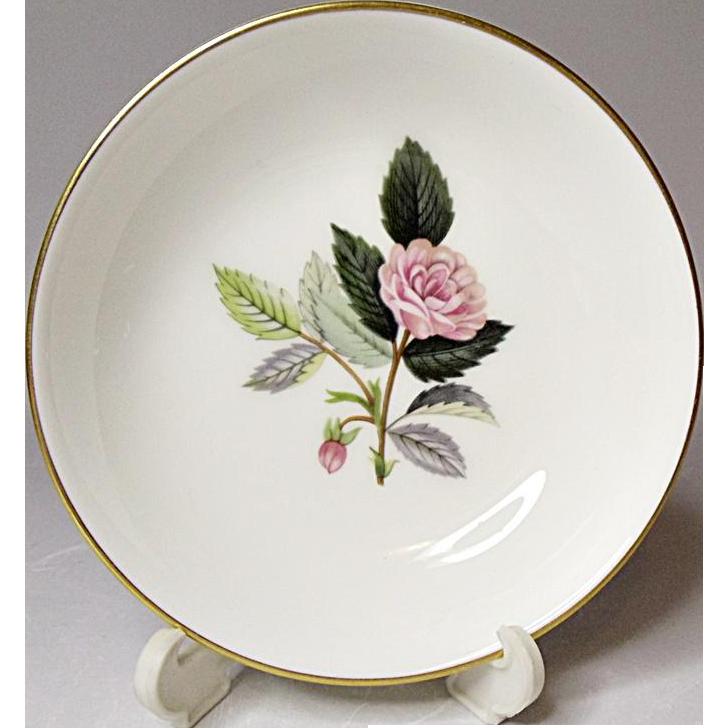 Vintage Wedgwood Bone China - Hathaway Rose - Sweet Dish - Ca. 1959 - 1987