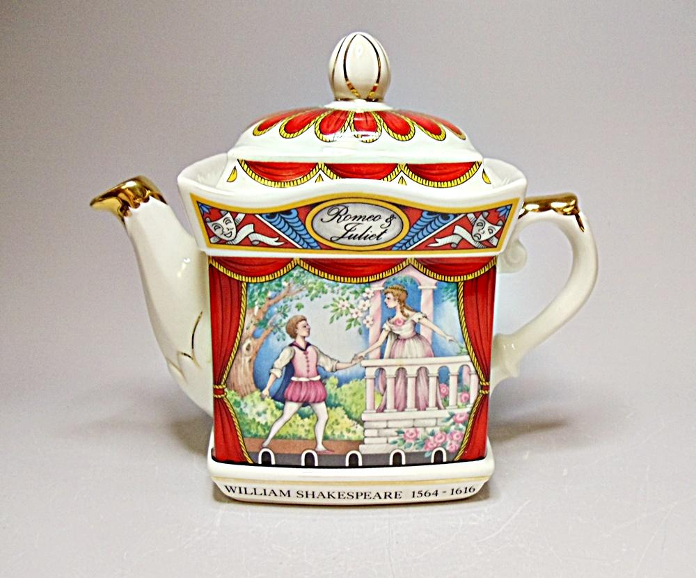 classic collection sadler romeo amp juliet teapot classic collection 758