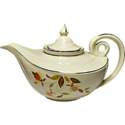 Damage Free - Vintage Hall Autumn Leaf Aladdin Jewel Tea Premium - Teapot
