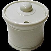Vintage Mid Century - McNicol China Condiment Ironstone Jar - Mustard - Ketchup - Sugar Etc.