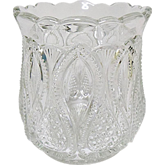 EAPG - Ca. 1900 - 1908 - U.S. Glass New Jersey Pattern 15070 aka Loops and Drops - Spooner