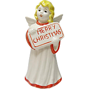 Vintage Goebel Merry Christmas Angel - W. Germany Marked 41132