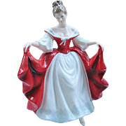 Royal Doulton Sara HN 2265 England Retired Figurine