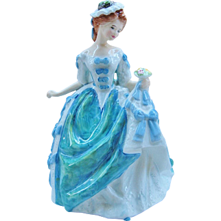 Royal Doulton Linda HN 3374 Retired Figurine Made In England