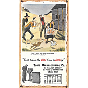 March 1948 Paul Webb Mountain Boys Advertising Calendar