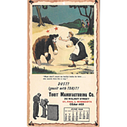 June 1948 Paul Webb Mountain Boys Advertising Calendar