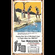 July 1948 Paul Webb Mountain Boys Advertising Calendar