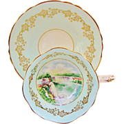 Paragon Niagara Falls Vintage English Teacup Cup and Saucer