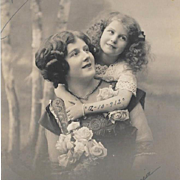 RPPC Mother and Child 1912