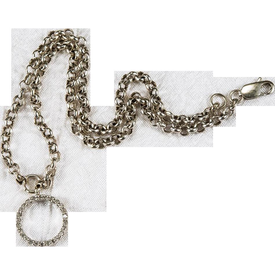 Circle Of Life Diamond Anklet 14k Gold Diamond Anklet ...