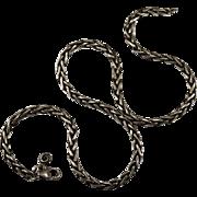 Vintage Spiga Chain 925 Designer Sterling Chain