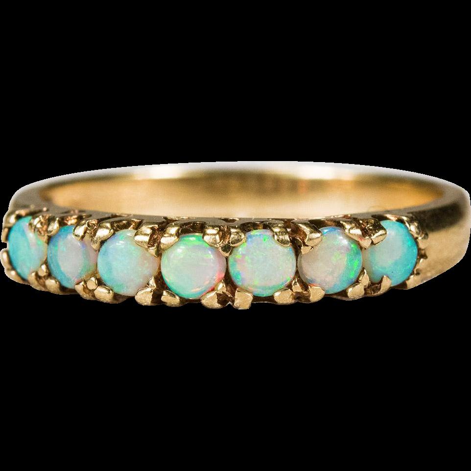 Fashion Women Ring Opal