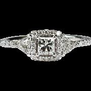 1.49ctw Diamond Ring 14k Gold Natural Diamond Engagement Ring