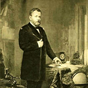 1907 'Ulysses S. Grant' Presidential Portrait , Fine Art, Gravure Print